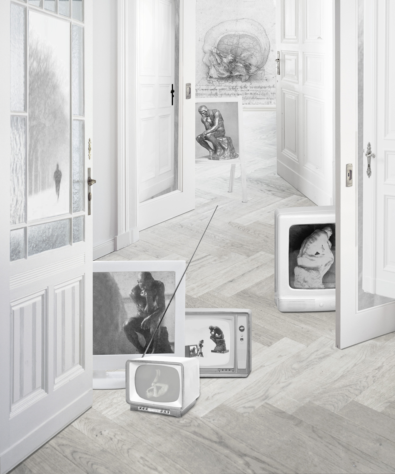 Denker, 2011, C-print, 120 x 100 cm.