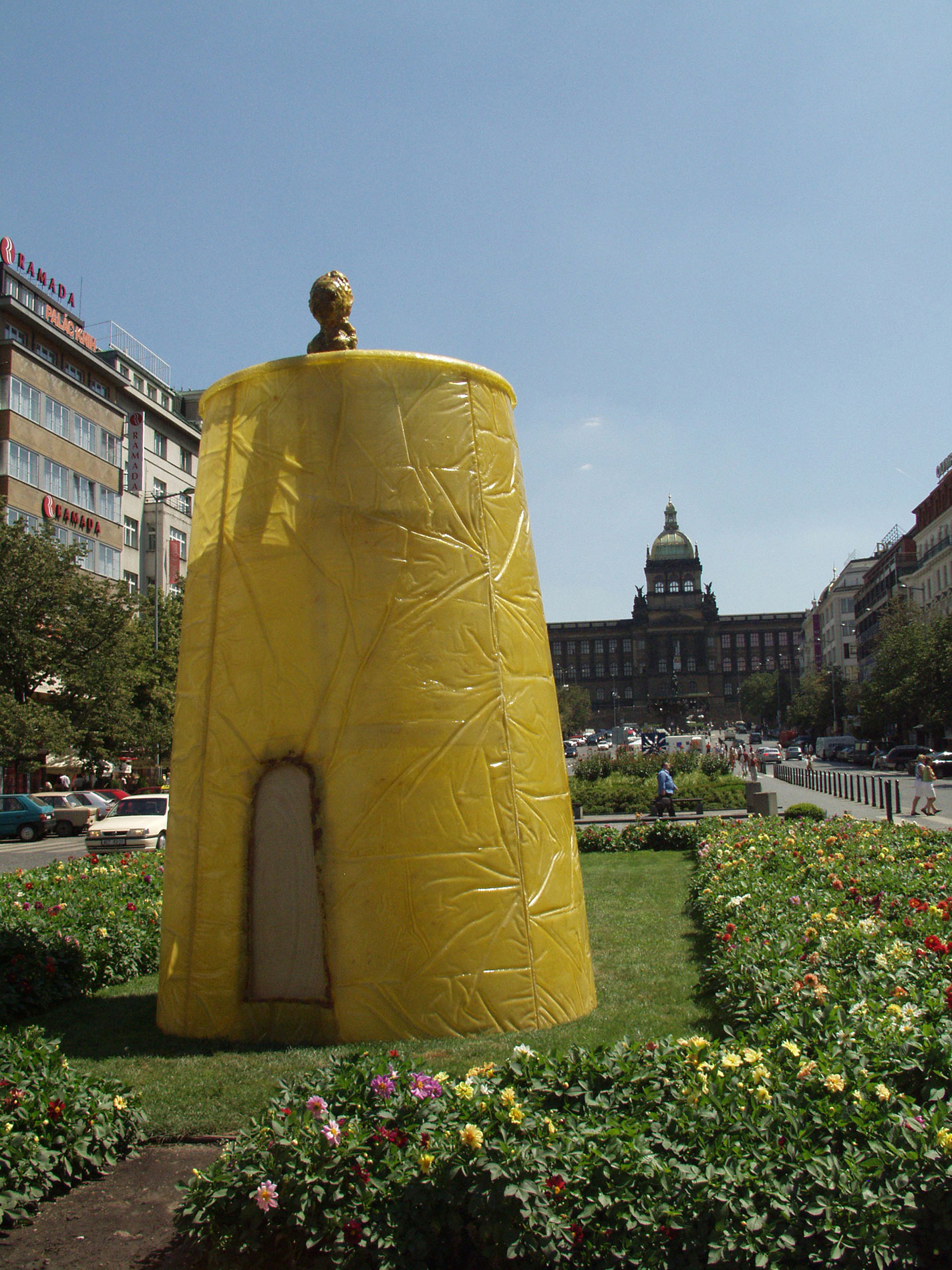 Instalación 'Vigies' in Prague, 2006