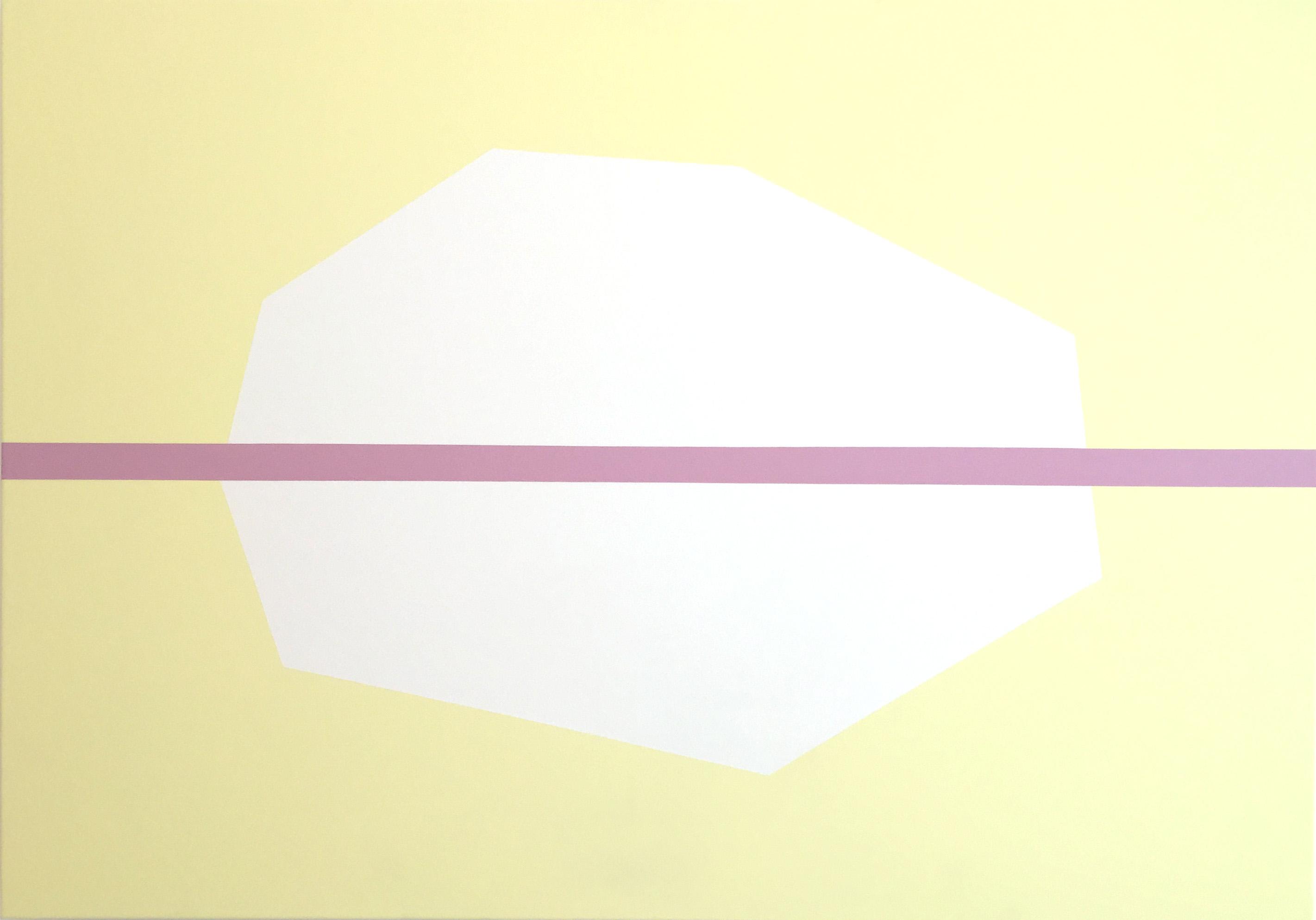 Sin título, 2015, acrílico sobre lienzo, 114 x 162 cm.