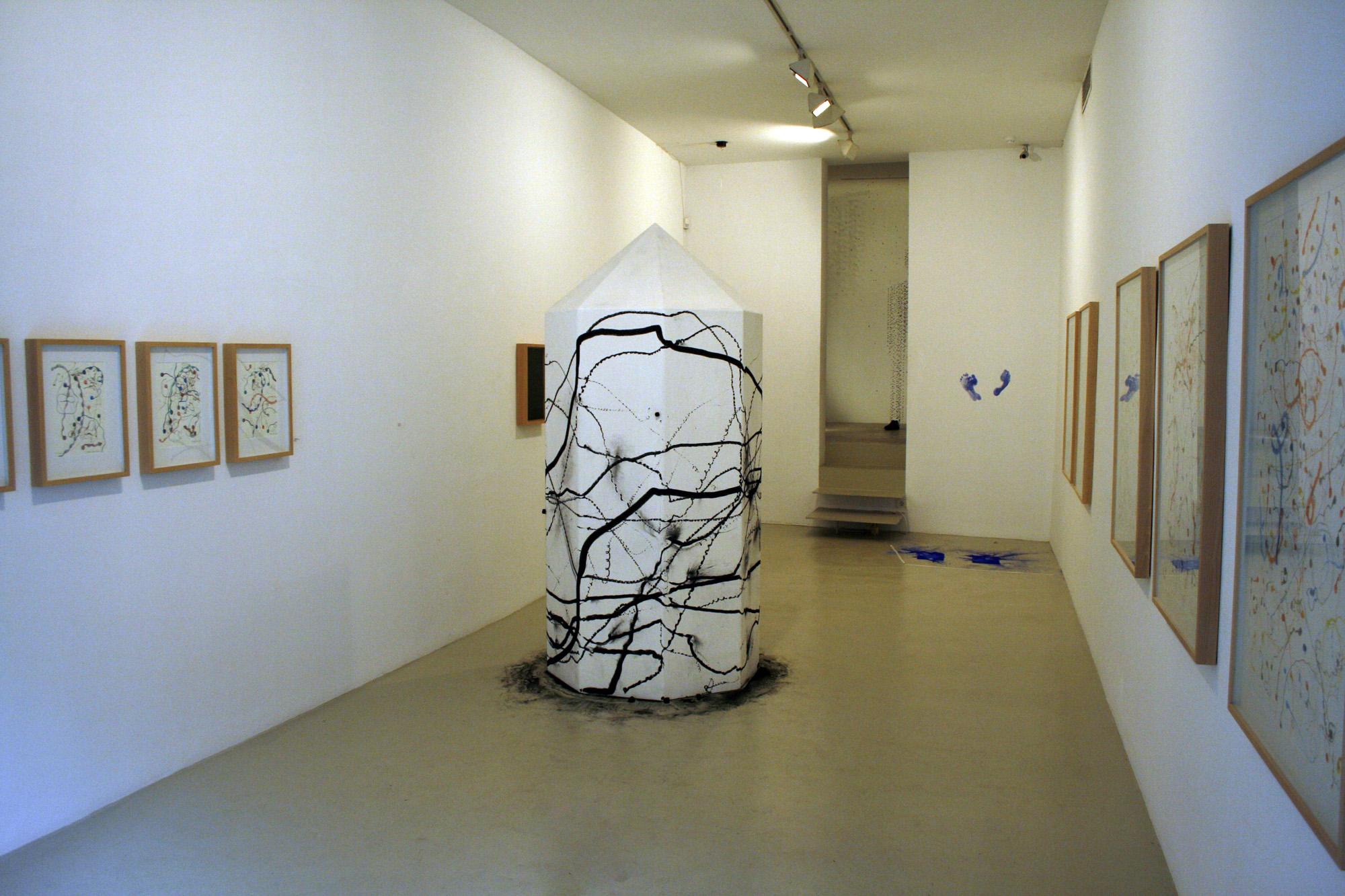 Vista de la exposición Rites of Passage en la Galería de Palma, 2008